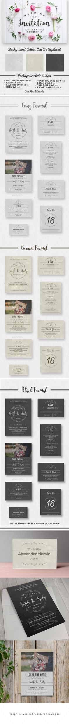 Wedding Invitation Cards With Flowers