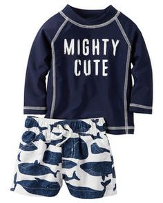 Carter's 2-Piece Mighty Cute Rashguard Set