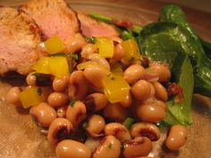 If you're struggling for the best way to present black-eyed peas for New Year's Day (which you must in the south) try this salsa. www.thesouthinmymouth.com. Black Eyed Peas, Allrecipes, Salsa, Kitchens, Southern, Food, Essen, Kitchen, Salsa Music