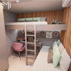 40 + modern and dreamy dorm & bedroom design ideas for you - Page 31 of 44 Dorm design, bedr 40 + modern and dreamy dorm & bedroom design ideas for you - Page 31 of 44 Dorm design, bedroom decor, home design, interior design Room Ideas Bedroom, Small Room Bedroom, Bedroom Beach, Master Bedroom, Bed Rooms, Couple Bedroom, Bedroom Ideas For Small Rooms For Teens For Girls, Bedroom Loft, Space Saving Bedroom