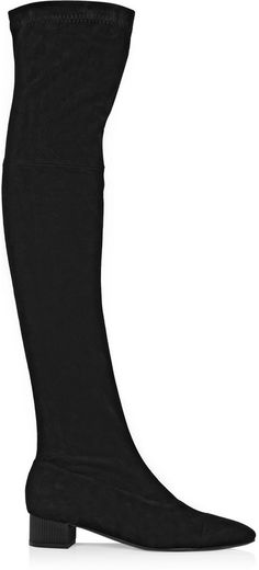 Robert Clergerie Cali stretch-suede over-the-knee boots on shopstyle.com.au