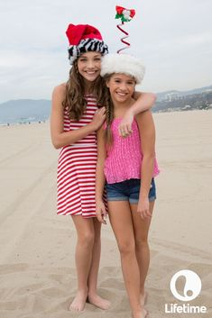 Maddie and Mackenzie are getting in the holiday spirit!