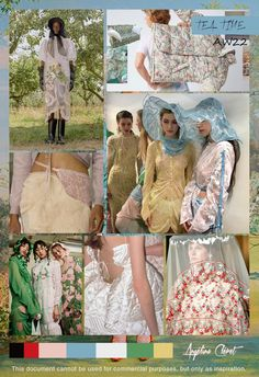 TEA TIME Autumn Winter 2022 - Fashion & Colors Trend by Angélina Cléret - This document cannot be used for commercial purposes, but only as inspiration. Winter Trends, Fall Fashion Trends, Fashion Show, Fashion Design, Fashion Colours, Colorful Fashion, Asian Fashion, Fashion Forecasting, Fashion Figures