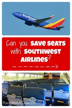 If you're traveling on Southwest Airlines, are you allowed to save seats for your kids or family? Here are some tips and tricks to...