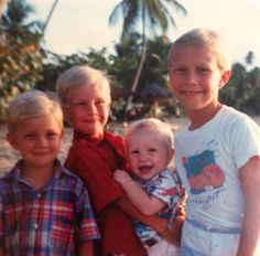 If only these three blonde boys would've knows what they would have accomplished in just a few short years
