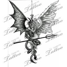 Good And Evil Tattoo Small