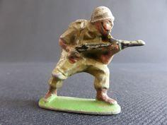 SOLDAT AU FUSIL QUIRALU ? EN ALUMINIUM ARMEE MILITARY PATRIE US ARMY GI | eBay