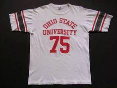 70'sビンテージフットボールカレッジTシャツ:沖縄古着屋CYCLONE サイクロン