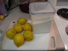 Sucre et citron