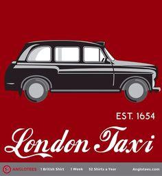 London Taxi t-shirt - anglotees.com