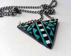 Blue Corn Necklace, by Michelle Lowden (Acoma Pueblo)
