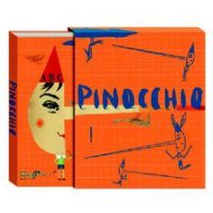 Pinocchio, Carlo Collodi, Sara Fanelli (ilustración), Emma Rose (traducción)