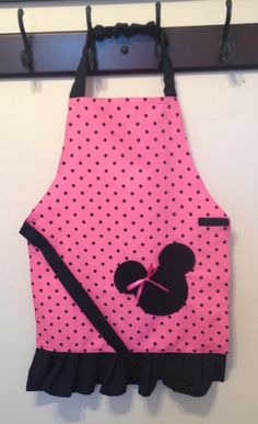 Pink Minnie Mouse Apron
