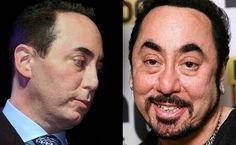 Celebrities – now and then... David Gest 2002; 2007