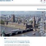British Airways – Bring a plane down your street