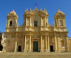 ITALY (Sicily): Il Duomo di Noto.