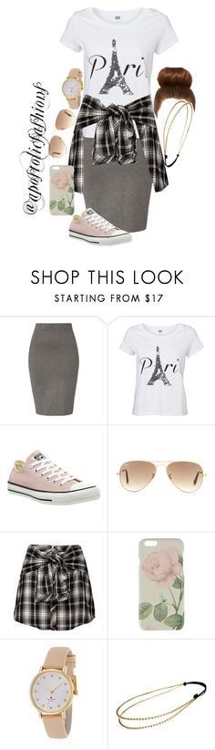 """Apostolic Fashions #1111"" by apostolicfashions on Polyvore featuring Jonathan Simkhai, Vero Moda, Converse, Ray-Ban, Ted Baker, Kate Spade and Chicnova Fashion"