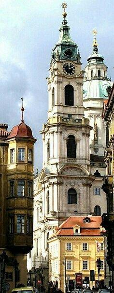 Church of St. Nicholas, #Prague, #CZECH REPUBLIC. http://www.svasek.eu