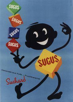 Sugus es una marca de caramelos duros masticables de la empresa Wrigley. Su origen hay que buscarlo dentro de la empresa chocolatera suiza Suchard, que los creó en 1931.