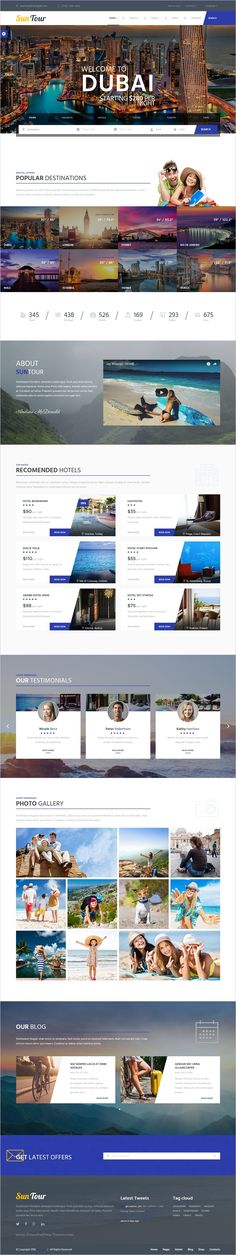 SunTour is a unique and modern Bootstrap #HTML #template for creative #tour and travel agency website download now➯ https://themeforest.net/item/suntour-creative-travel-agency-html-template/17042939?ref=Datasata
