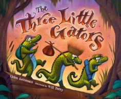 Cajun version of The Three Pigs.  One of my little one's favorites.