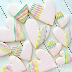 Spice Cookies, Fancy Cookies, Heart Cookies, Cute Cookies, Fondant Cookies, Cupcake Cookies, Berry Cupcakes, Sugar Cookies, Valentines Day Cookies