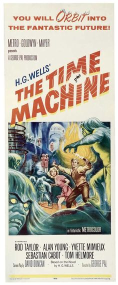 The Time Machine 14x36 Movie Poster (1960)