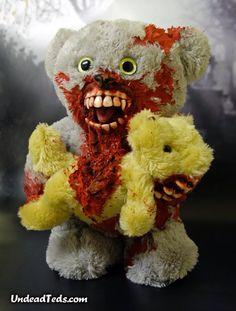 Undead Teds # horror teddy