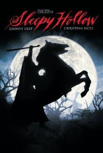 Directed by Tim Burton. With Johnny Depp, Christina Ricci, Miranda Richardson, Michael Gambon. Ichabod Crane is sent to Sleepy Hollow to investigate the decapitations of 3 people with the culprit being the legendary apparition, the Headless Horseman. Halloween Movies, Scary Movies, Horror Movies, Good Movies, Halloween 2013, Halloween Horror, Halloween Ideas, Halloween Decorations, Vintage Horror