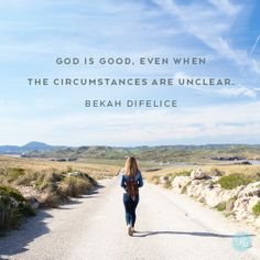 If you're making a hard choice or facing a tough transition today, be encouraged. Ruth's story serves as evidence that even the most painful interruptions can double as God's provision, that God is present and active in our midst and that no road trip can ever lead us to a place where God hasn't already arrived.  -Bekah Difelice