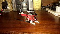 The billman's lego batman 66 helicopter, built by billman & theresa. Pick 2.