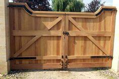 деревянные ворота для гаража: 23 тыс изображений найдено в Яндекс.Картинках