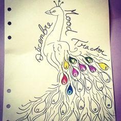 Peacock Mood Tracker