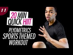 20 Min. Explosive Plyo Sports HIIT Workout | 20 Min. Quick HIIT #11 - YouTube