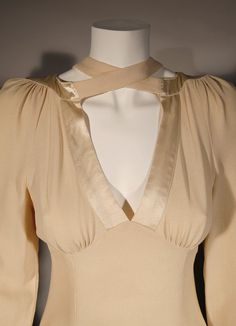 Ossie Clark: I had this in red; very low at the back