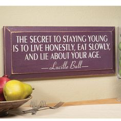 secret to staying young