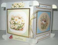 Mother's Day Cube Card by Sheila Weaver