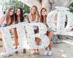 Pi Beta Phi at University of California, Santa Barbara #PiBetaPhi #PiPhi #letters #sorority #UCSB