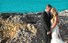 The Viceroy Hotel in Anguilla overlooks gorgeous water! Destination wedding photography by Joy Marie Studios