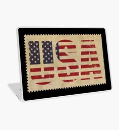 """""""US Flag"""" Laptop Skin by nocnoc78 