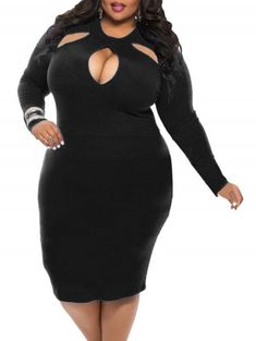 4592259c280 online shopping for BIUBIU Women s Plus Size Sexy Long Sleeve Club Bodycon  Bandage Midi Dress from top store. See new offer for BIUBIU Women s Plus  Size ...