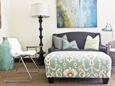 Contemporary Living-rooms from Milk and Honey Home on HGTV
