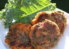 Sweet Potato and Kale Patties (Dairy, Gluten/Grain and Egg Free) - The Healthy Happy Wife