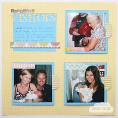 Scrapbook up to 15 photo with this layout!