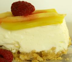 Supereasy no-bake cheesecake #ostekake #cream_cheese #kremost #gele