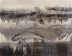 Salamanders by Kenneth Callahan Modern Artwork, Abstract, Gallery, Salamanders, Painting, Kunst, Summary, Roof Rack, Painting Art