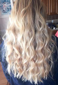 Beach waves long hair
