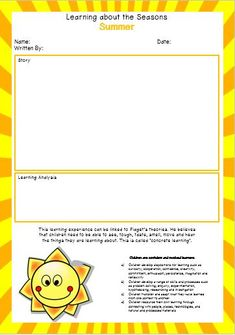 Editable Learning Story Templates Due To Popular Demand We Have