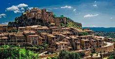 Alquézar, a village frozen in time in the province of Huesca. 23 Places In Spain To Drop Everything For And Visit Right Now Beautiful Places In Spain, Beautiful Sites, Wonderful Places, Amazing Places, Madrid, Natural Swimming Ponds, Best Ski Resorts, Fantasy Castle, Medieval Town