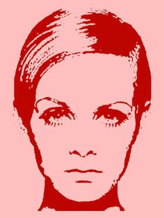 Red and pink Twiggy